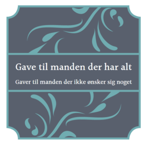 f57ee6bee3f Gaven Til Manden Der Har Alt » 15 Ideer Til Ham Der Ikke ønsker Sig ...