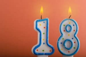18 års gave