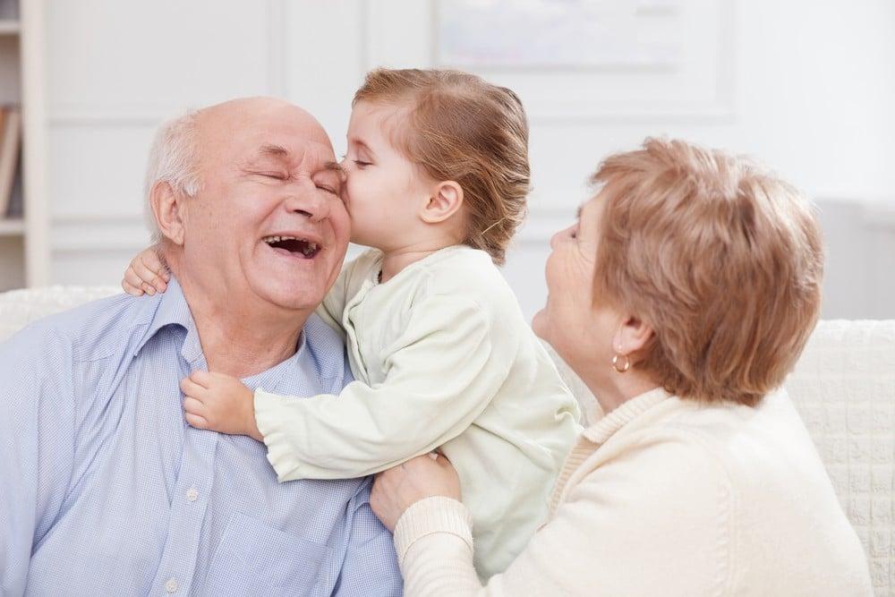 Gave til oldeforældre
