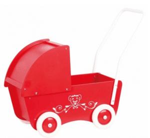 Gave til 1 årig » sød klassisk rød dukkevogn