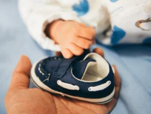 Dåbsgaver » s%C3%B8de sko til baby