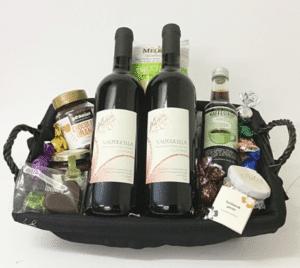 Gavekurv » sk%C3%B8n gavekurv med god vin
