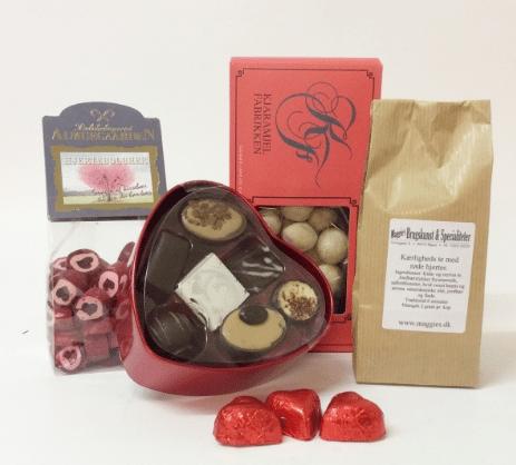Gaver til 200 kr » gavekurv med delikatesser