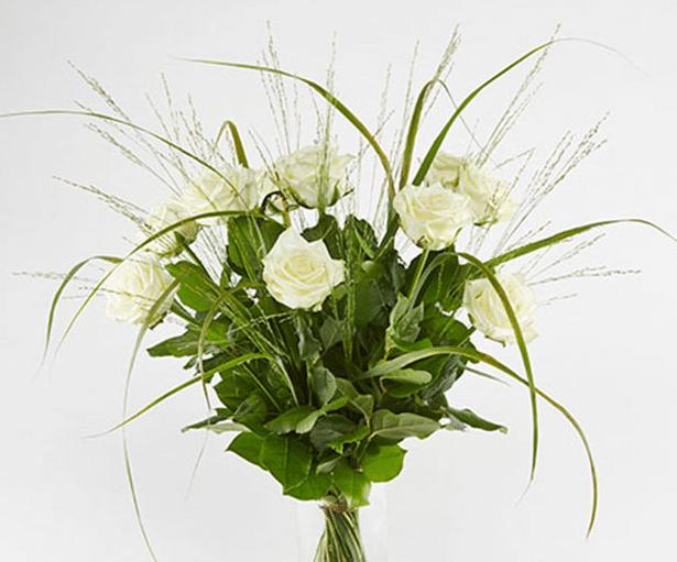 Flotte blomster i bryllupsgave