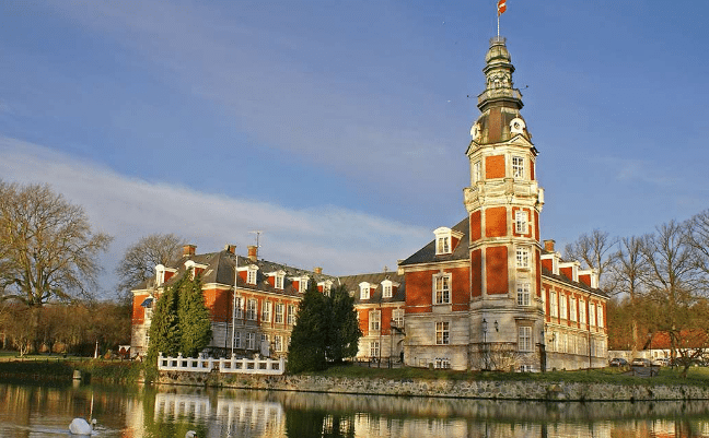Romantisk ophold på dansk slot