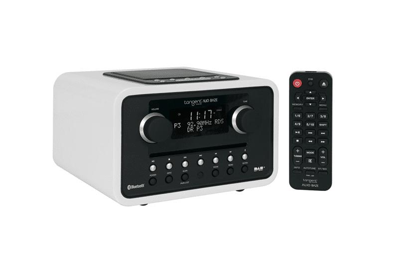 DAB radio med CD afspiller