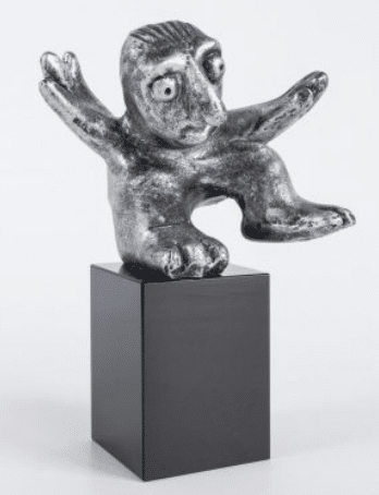 En flot skulptur som minder ham om hans familie