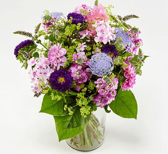 Blomster til virksomheden og kollegaerne