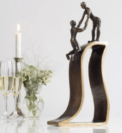 Skulpturer er en genial receptionsgave