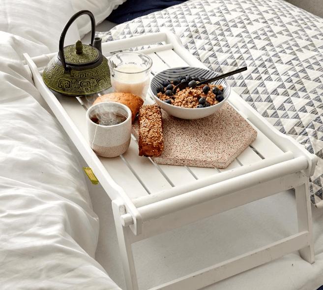 Gave til kobberbryllup » Breakfast tray