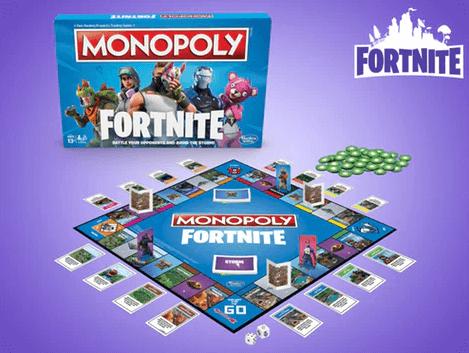Gaver til 11 årig » fortnite monopoly brætspil
