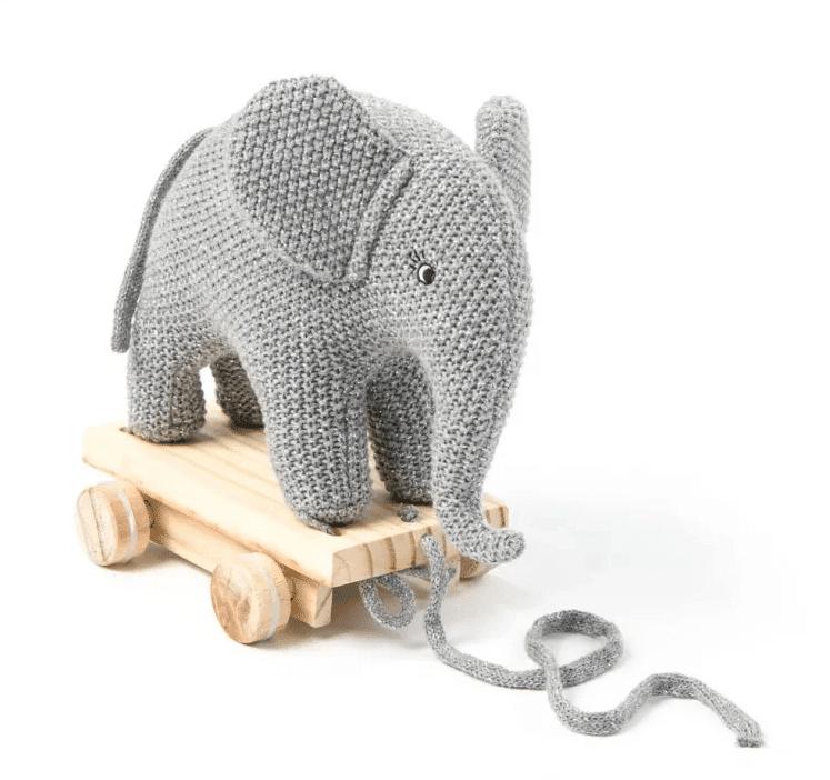Gaver til 2 årig » træk elefant gave 2 aarig