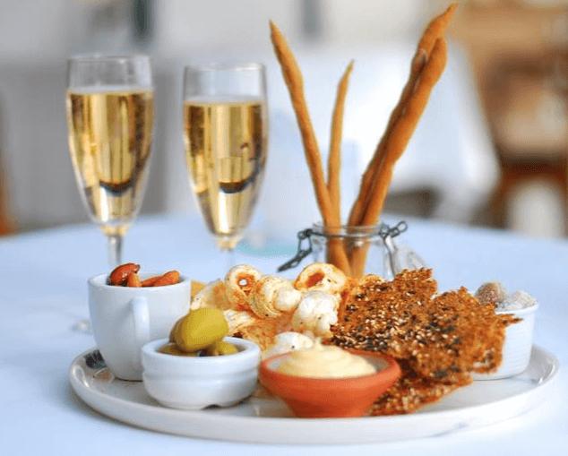 Barselsgave » Besøg på restaurant barselsgave