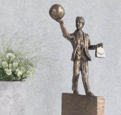 Dimissionsgave » smuk skulptur til dimissionsgave