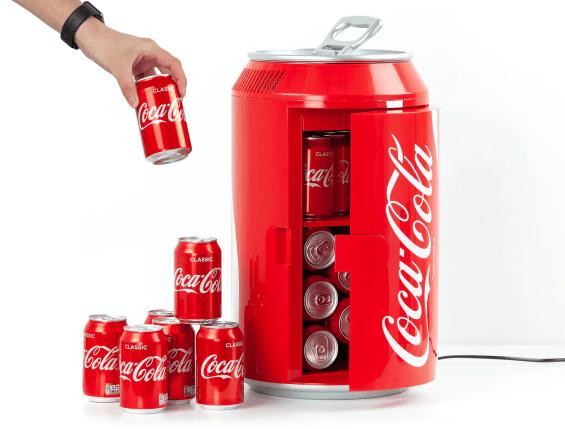 Gave til ham » Coca cola mini køleskab
