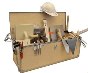 Svendegaver » Værktøjssæt til murersvend