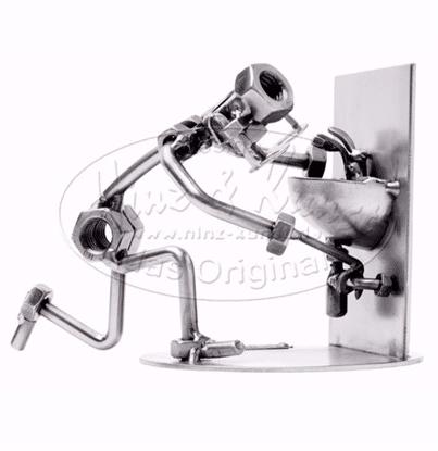 Svendegaver » metalfigur blikkenslager svendegave