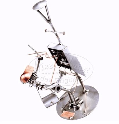 Svendegaver » metalfigur elektriker svendegave