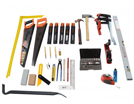 Svendegaver » værktøjssæt til tømrersvend