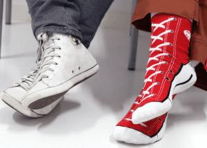 Gaver til 50 kr » Sjove sneaker sokker til 50 kr