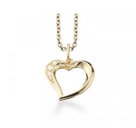 Årsdagsgave til hende » hjertehalskæde årsdagsgave til hende