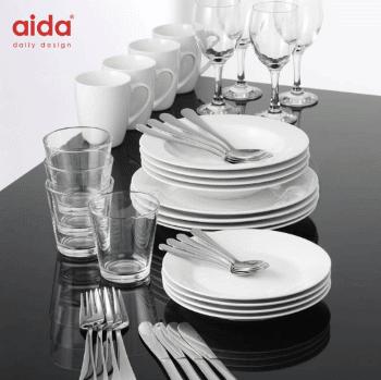 Flytte hjemmefra gaver » Aida startsæt flyt hjemmefra gave