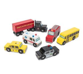 legetøjsbiler pakkekalender børn