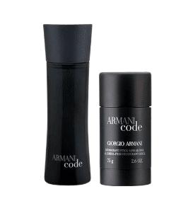Jubilæumsgave » Armani Code parfume og deodorant jubilaeumsgave