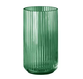 Jubilæumsgave » Lyngby vase 25 x 14 cm i glas jubilaeum