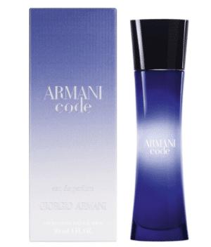 Kandidatgave » armani code parfume gave til kandidat