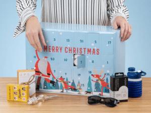 Julekalender » byg din egen julekalender med chokolade og andt fyld