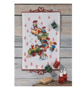 Julekalender » julekalender med nisser paa til doeren