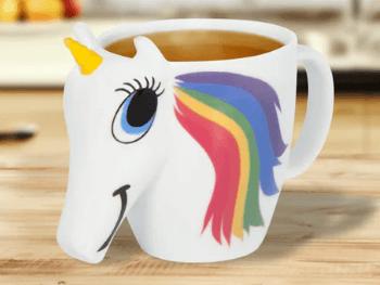 Gave til 150 kr » Unicorn krus der skifter farve til 150 kr