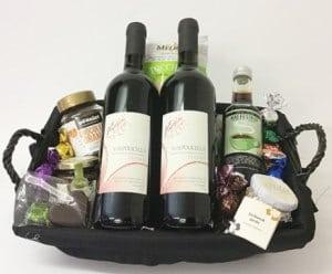 Gave til svigermor » Gavekurv hyg dig med italiensk vin