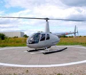 Giv en helikoptertur i gave » Helikoptertur over Roskilde med Danish Fly
