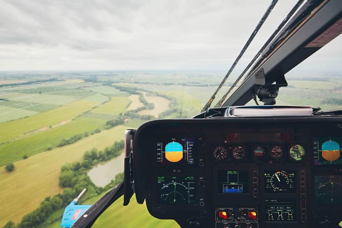 helikoptertur i gave
