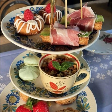 Ginsmagning » Afternoon Tea ginsmagning hos Mosgaard Whisky