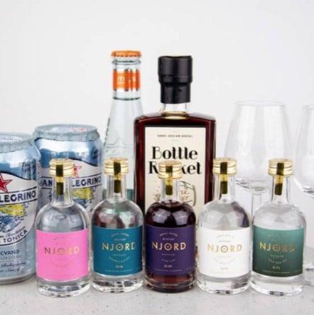 Ginsmagning » Virtuel ginsmagning for 2 hos Njord Gin