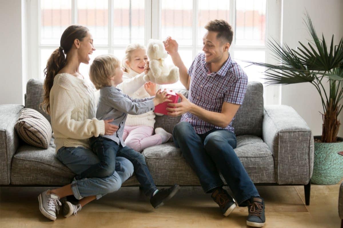 gave til forældre