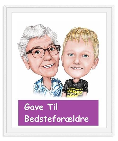 Karikaturtegning – Giv en sjov og anderledes karikaturtegning i gave » gavetilbedsteforaeldre