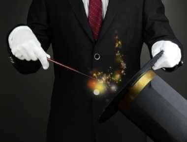 hyr en tryllekunstner til 60 års fødselsdag