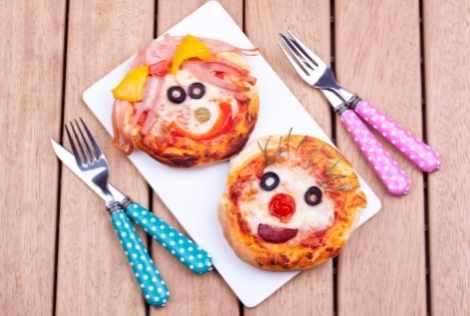 mini pizza til fødselsdag