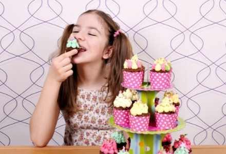 sjove muffins til fødselsdagsmad
