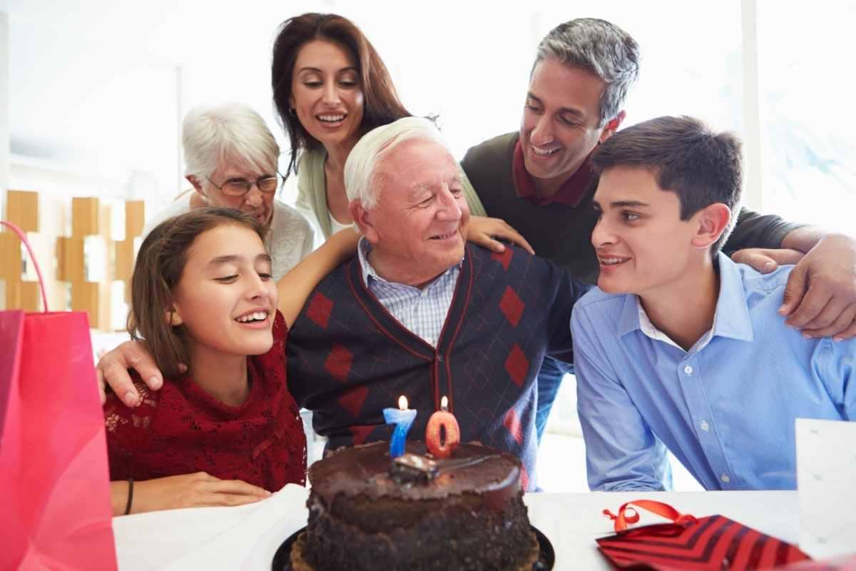 tale til 70 års fødselsdag